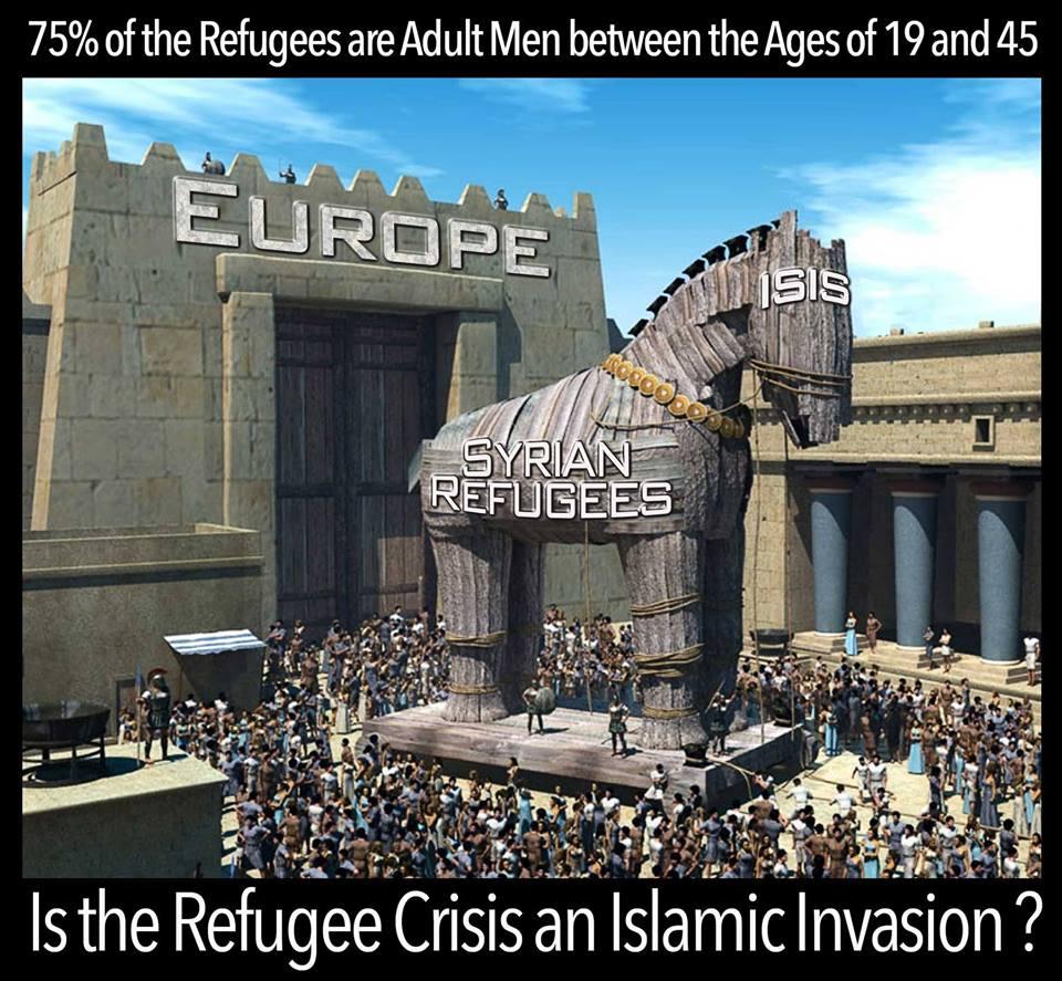 Refugee Trojan Horse
