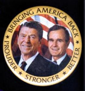 1984 Campaign Button