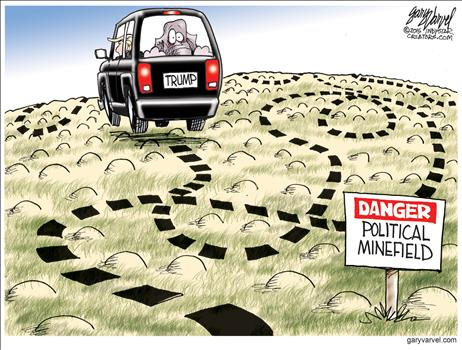 Political Minefield