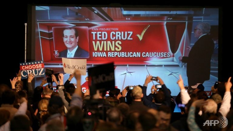 Cruz Iowa Caucus