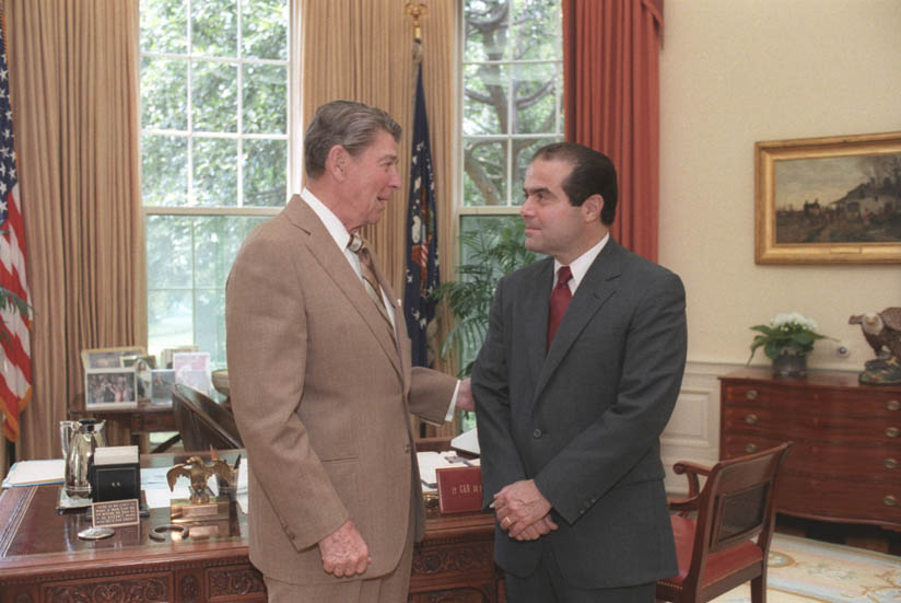 Meeting with Scalia