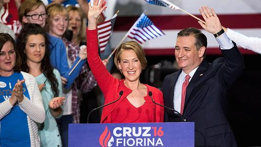 Cruz-Fiorina Ticket
