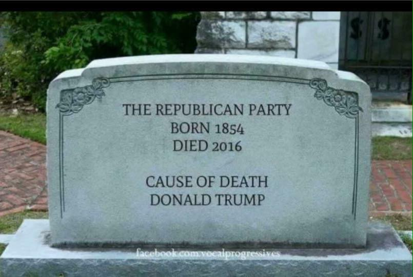 Republican Tombstone