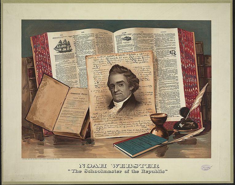 Noah Webster Books