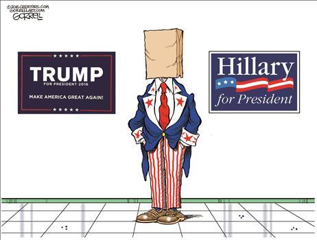 Uncle Sam's Head Bag