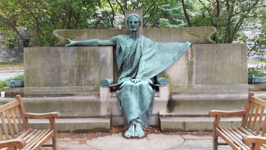 Webster Statue-Amherst College