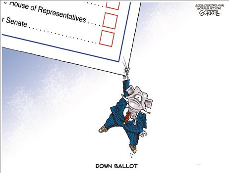 down-ballot