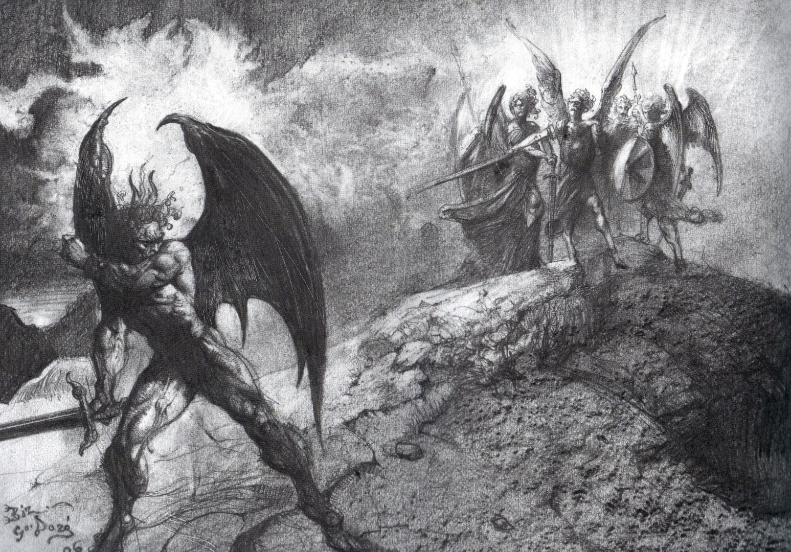 satans heroic aspects in paradise lost by john milton