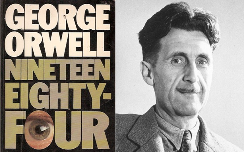 george orwells symbolism and derivation for nineteen Manipulation of language as a weapon of mind control and abuse of power in 1984 28 octubre 2010 by rorueso published in 1949, the dystopian nove l ninenteen- eighty-four is the conclusion of george orwell's writing what is more, it is the conclusion of almost everything that orwell had written since 1936.
